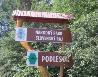 Szlovák Paradicsom: bejárat