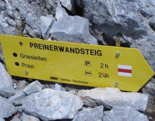 Rax-Alpok: Preinerwandsteig