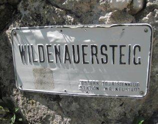 Hohe Wand: Wildenauersteig