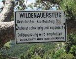 Hohe Wand: Wildenauersteig - túránk vége