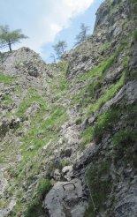 Rax-Alpok: Teufelsbadstubensteig - ferrátánk utolsó előtti része