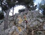 Hohe Wand: Gebirgsvereinssteig - egy átvezető szakaszon