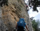 Hohe Wand: Gebirgsvereinssteig - a függőhíd utáni szakasz