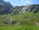 Grossvenediger (3666m) - szép kilátás a Johannishüttetől (2121m)