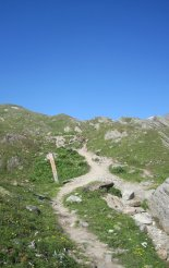 Grossvenediger (3666m) - túránk során gyönyörű túraösvényen haladunk