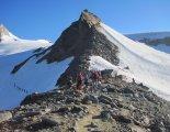 Grossvenediger (3666m) - a gleccser előtti szakasz