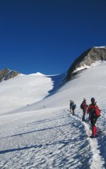 Grossvenediger (3666m) - gleccsertúránk elején
