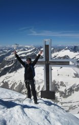 Grossvenediger (3666m) csúcsán