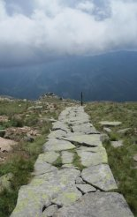 Gyömbér-csúcs(2043m) gerinctúra - útban a Chopok(2024m) felé