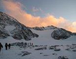 Grossglockner (3798m) - hihetetlen reggeli fényben
