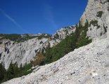 Rax-Alpok: Hans von Haid-Steig - a beszállás közelében