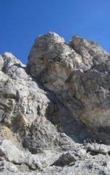 Rax-Alpok: Hans von Haid-Steig - túránk elején - távolban az első létra