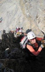 Rax-Alpok: Hans von Haid-Steig - túránk elején