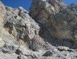 Rax-Alpok: Hans von Haid-Steig - túránk elején - távolnan az első létra
