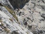 Rax-Alpok: Hans von Haid-Steig - egyik nehezebb szakaszunk