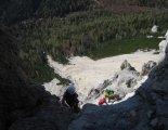 Rax-Alpok: Hans von Haid-Steig - túránk felénél