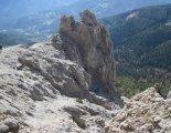 Rax-Alpok: Hans von Haid-Steig - egyik könnyebb rész a távolban