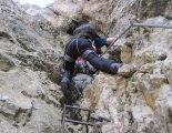 Rax-Alpok: Hans von Haid-Steig - utolsó létránk s egy rövid szurdok