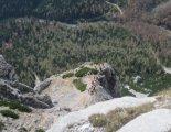 Rax-Alpok: Hans von Haid-Steig - Madonna (1585m) a távolban