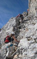 Rax-Alpok: Hans von Haid-Steig - a fennsík előtti utolsó szakasz
