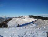Schneeberg (2076m) téli, hótalpas túra