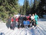 Schneeberg (2076m) hótalpas csúcstúra - 2015-02-14