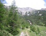 Rax-Alpok: Heukuppe(2007m) - utunk közben, alpesi legelőkön haladunk