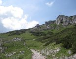 Rax-Alpok: Heukuppe(2007m) - szép, köves ösvényen