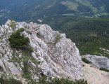 "Rax-Alpok: Heukuppe(2007m) - utunk mellett ""kettersteig"" útvonalak haladnak"