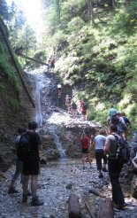 Szlovák Paradicsom: a Suchá Belá egyik legszebb vízesése