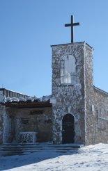 Heukuppe-csúcs(2007m) - hótalpas túra - kis kápolna