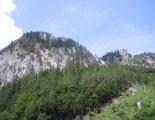 Schneealpe: Windberg(1903m) - túránk elején