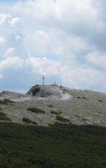 Rax-Alpok: Preinerwandsteig - távolban a Preinerwand(1783m)