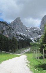 Kaiserschild klettersteig - túránk elején