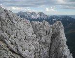 Kaiserschild klettersteig - túránk egyik legizgalmasabb része a függőhíd