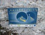 Kaiserschild klettersteig - a csúcskeresztet még egy 20 perces sétával érhetjük el