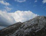 Kaiserschild klettersteig - útban a csúcskereszt felé