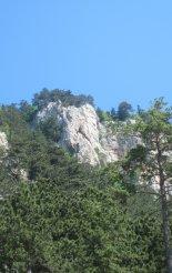 Hohe Wand: Wildenauersteig - túránk a távolból