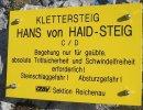 Amit a Haid-Steigről tudni érdemes!