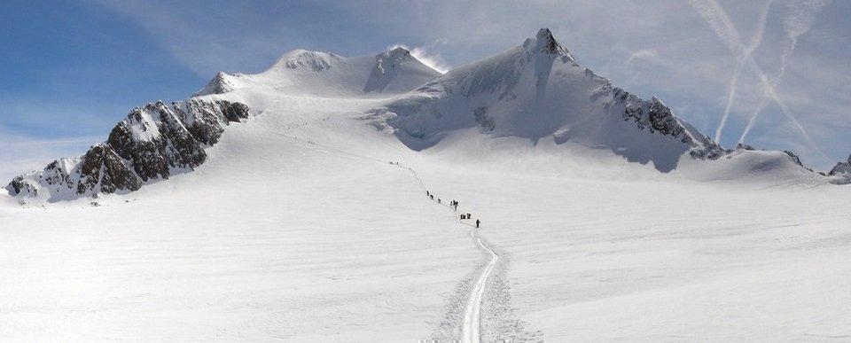 Similaun (3606m) - Wildspitze (3772m)