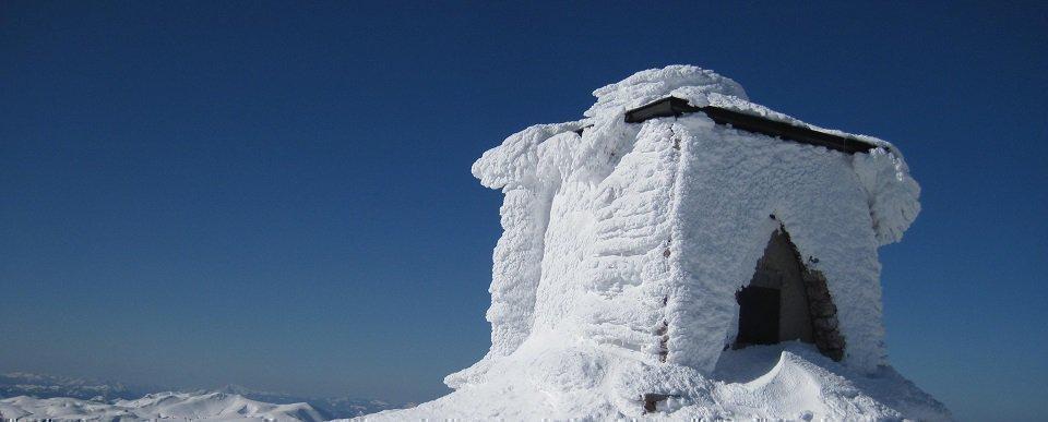 Heukuppe-csúcs (2007m) - téli csúcstúra