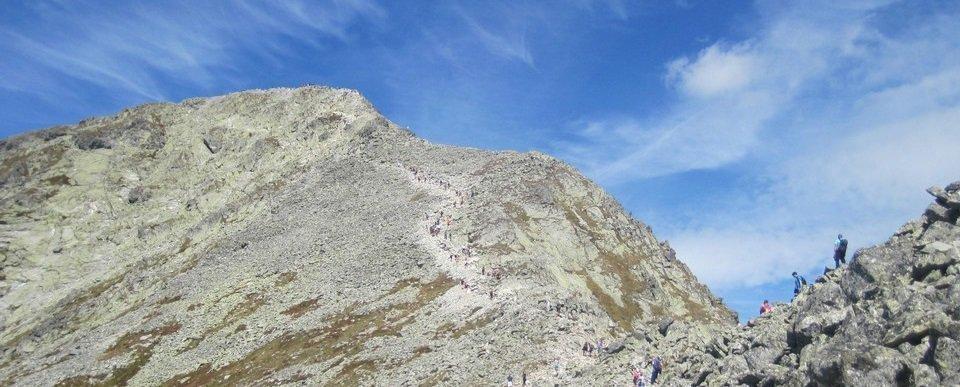 Magas-Tátra: Rysy (2503m) - Kriván (2494m)