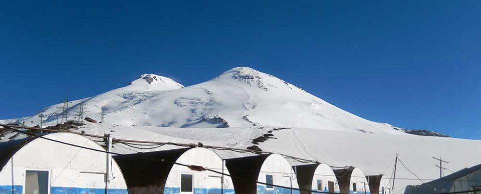 Elbrusz (5642m) - csúcsmászás