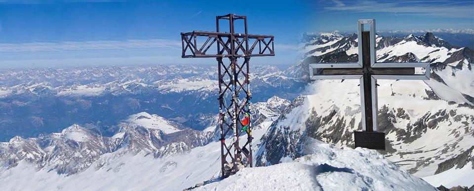 Marmolada(3343m) - Grossvenediger(3666m)