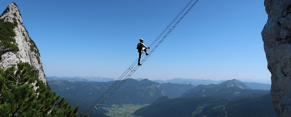 Dachstein - via ferrata - tavasz