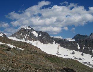 Grossvenediger (3666m) - fantasztikus panoráma a menedékháztól