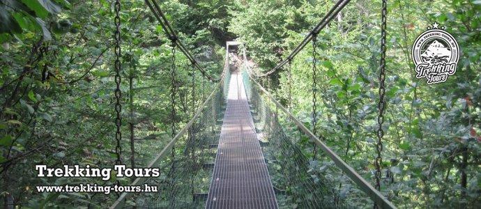 Szlovák Paradicsom: Szurdok-túra