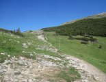 Schneeberg(2076m) - a fennsíkra vezető szakaszunk