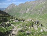 Grossvenediger (3666m) - útban a Johannishütte irányába