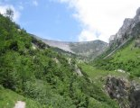 Csúcstúra - Schneealpe: Windberg(1903m) - utunk elején egy szép szurdokban haladunk